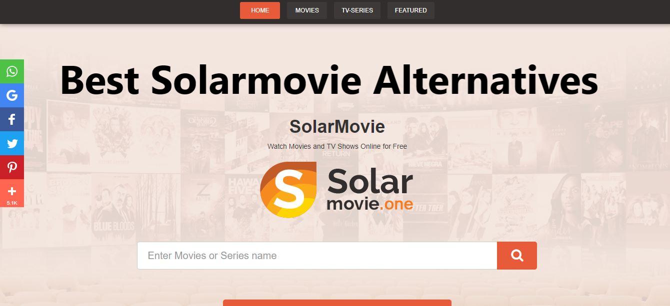 solarmovie, sites like Solarmovie, Solarmovie alternatives