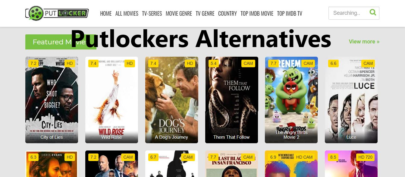 putlockers ch, putlocker, putlockers alternatives, sites like putlocker