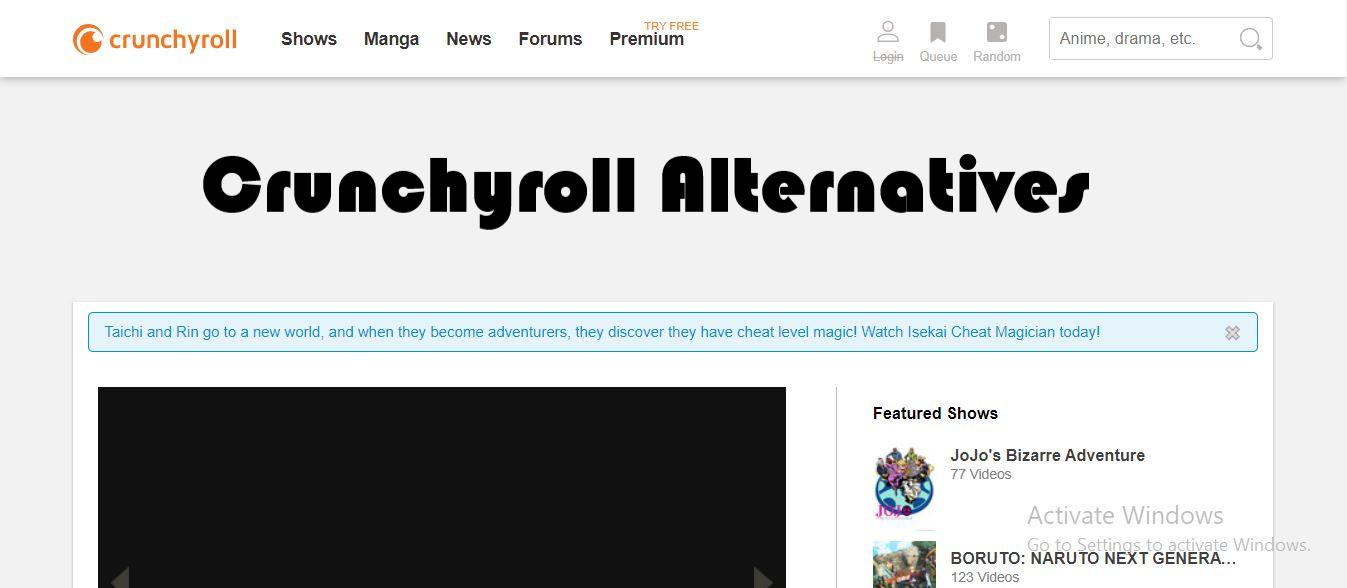 Crunchyroll anime, Crunchyroll down, Crunchyroll premium, Crunchyroll