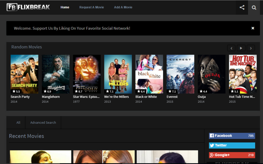 watching movies and Tv series online for free