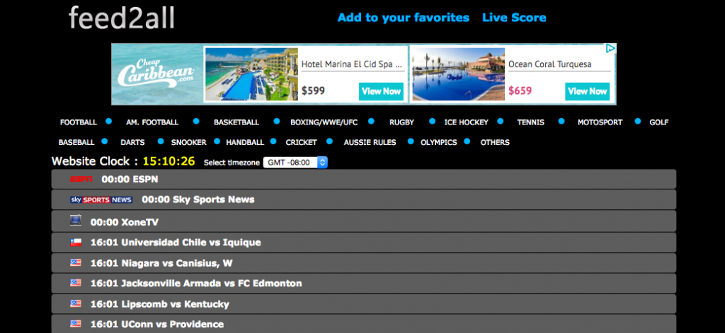 15 Best Sites like Feed2All - Live Sports Sites