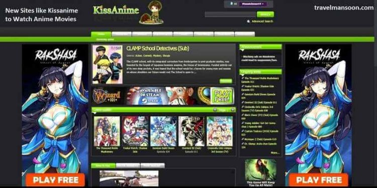 kissanime website
