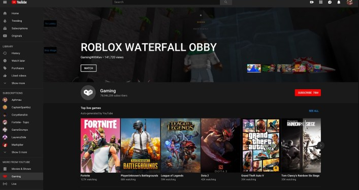 Best Twitch Alternatives: YouTube Gaming