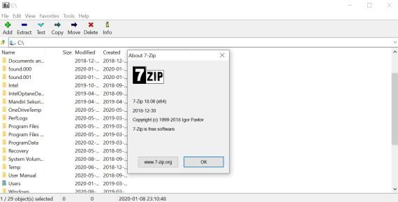 WinRAR and WinZip Alternatives: 7-Zip