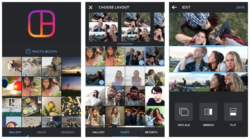 Best Photo Collage Apps: Layout