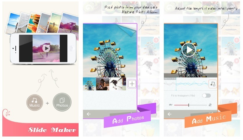 Best Slideshow Apps: Pic Flow