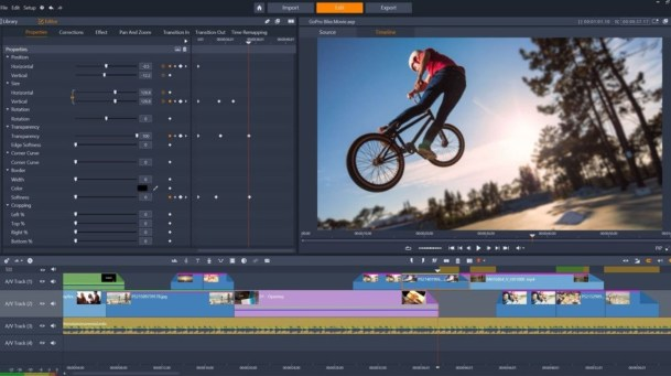 Best Windows Movie Maker Alternatives: Pinnacle Studio
