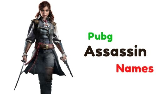 Pubg Assassin Names
