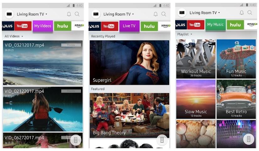 Best Screen Mirroring Apps: Samsung Smart View