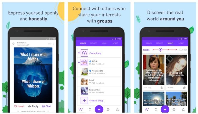 Best Random Chat Apps: Whisper