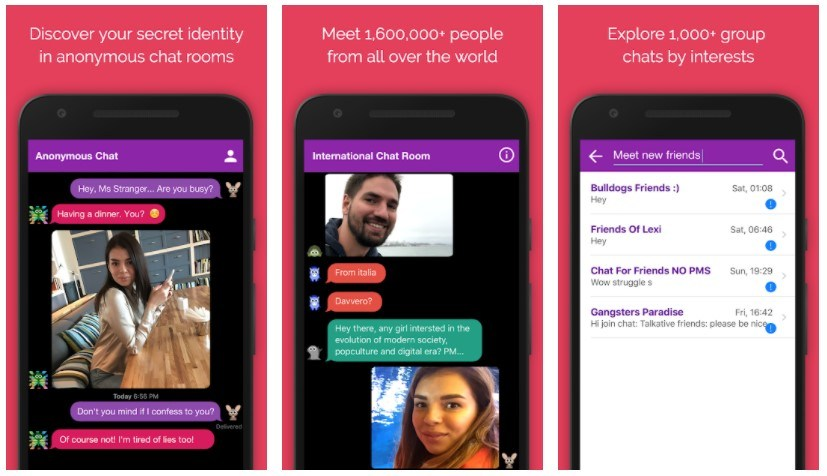 Best Random Chat Apps: Anonymous Chat Rooms