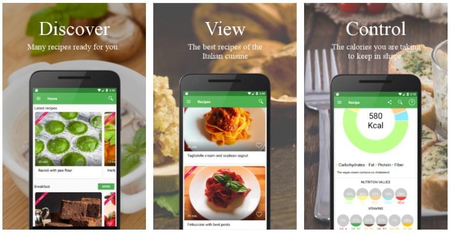 Best Vegetarian and Vegan Apps: VegMenu