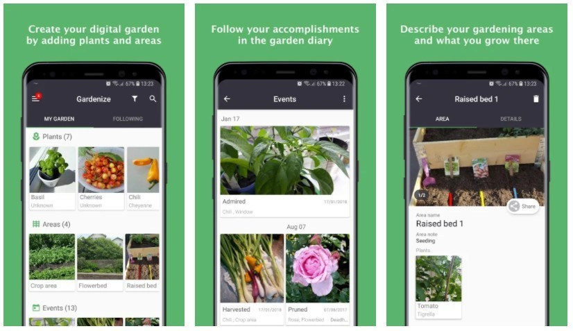 Best Gardening Apps: Gardenize