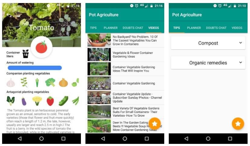 Best Gardening Apps: Urban Veggie Garden