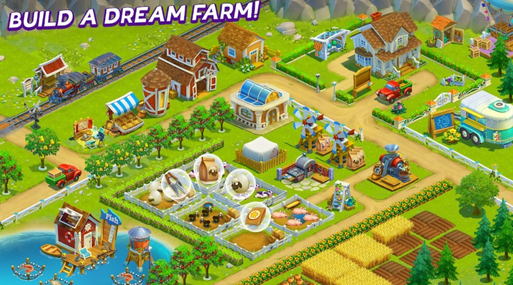 Best Farming Games: Golden Farm