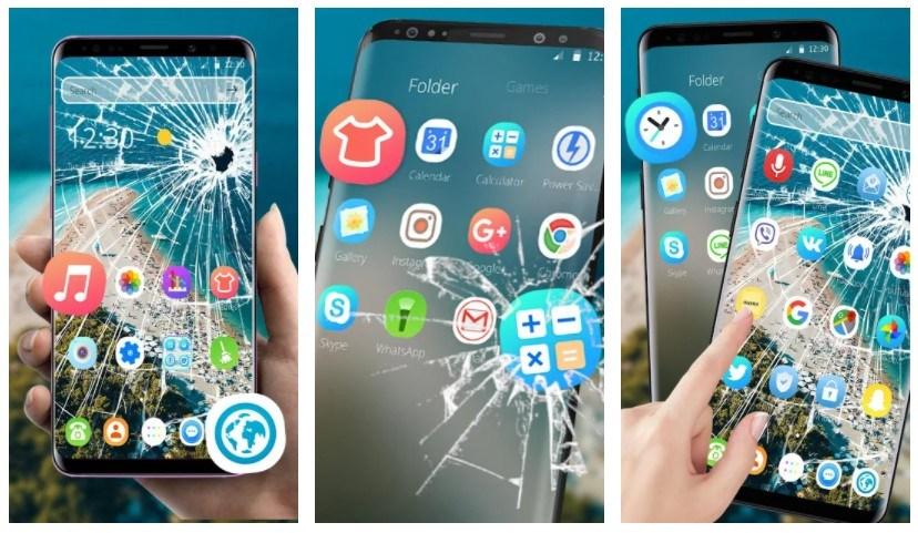 Best Fake Broken Screen Prank Apps: Broken Screen Theme