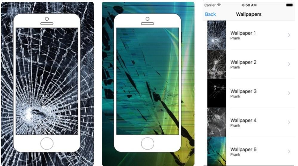 Best Fake Broken Screen Prank Apps: Broken Screen Wallpaper Prank