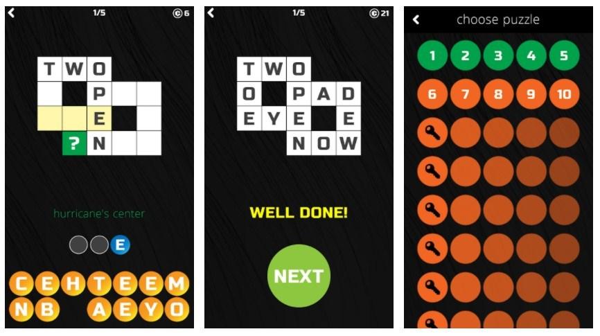 Best Crossword Puzzle Games: Little Crossword Puzzles