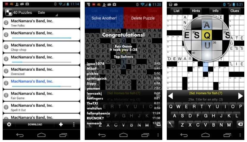 Best Crossword Puzzle Games: Crosswords