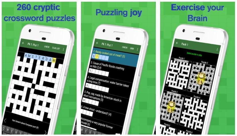 Best Crossword Puzzle Games: Cryptic Crossword
