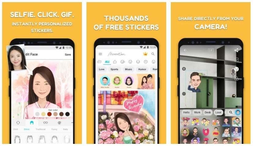 Best Caricature Maker Apps: MomentCam Cartoons & Stickers
