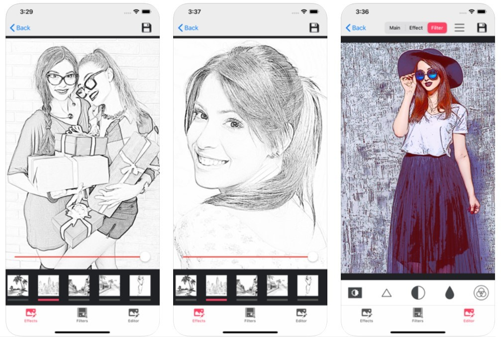 Best Caricature Maker Apps: Pencil Photo Sketch Editor