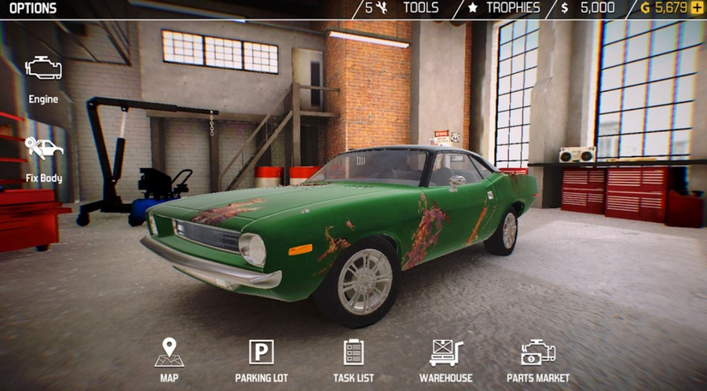 Best Car Customization Apps: Car Mechanic Simulator 18