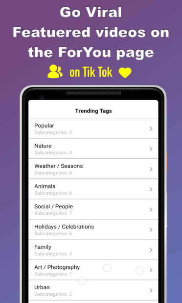App To Make Your Video Famous on TikTok