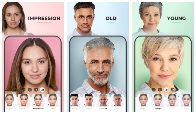 Best Age Progression Apps: FaceApp