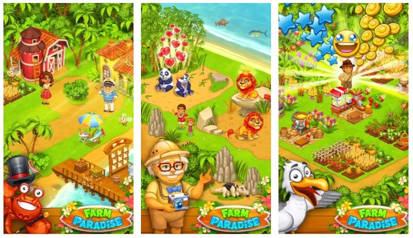 Best Farming Games: Farm Paradise