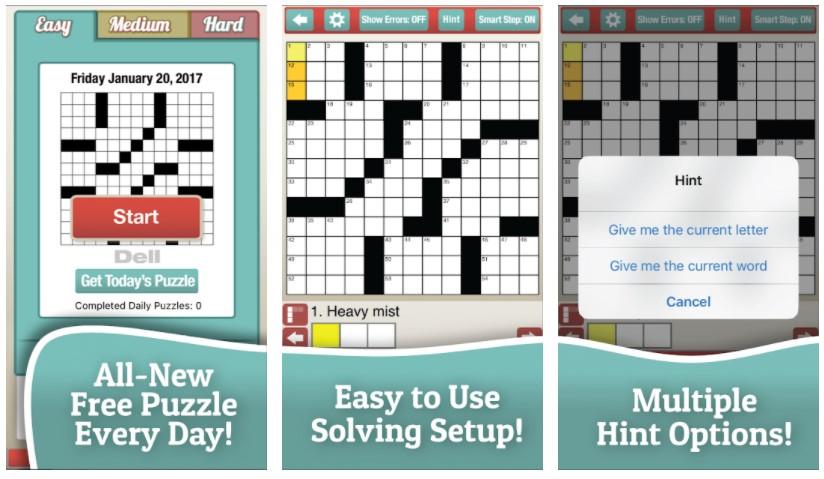 Best Crossword Puzzle Games: Penny Dell Crossword