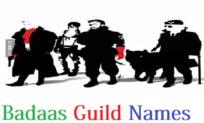 Badaas Guild NAMES with Funny Guild Names