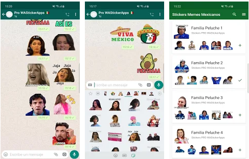 Mexican Memes Stickers App For WhatsApp