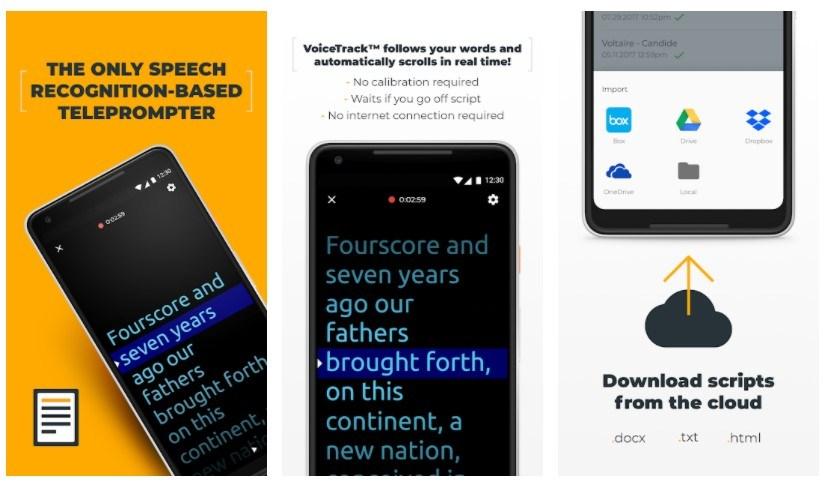 PromptSmart Pro Best Teleprompter Apps