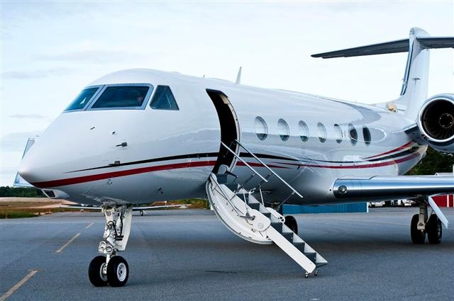 Bill Ackman's private jet. Source: JetNet