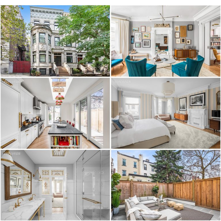 Emily Blunt and John Krasinski's Park Slope Home