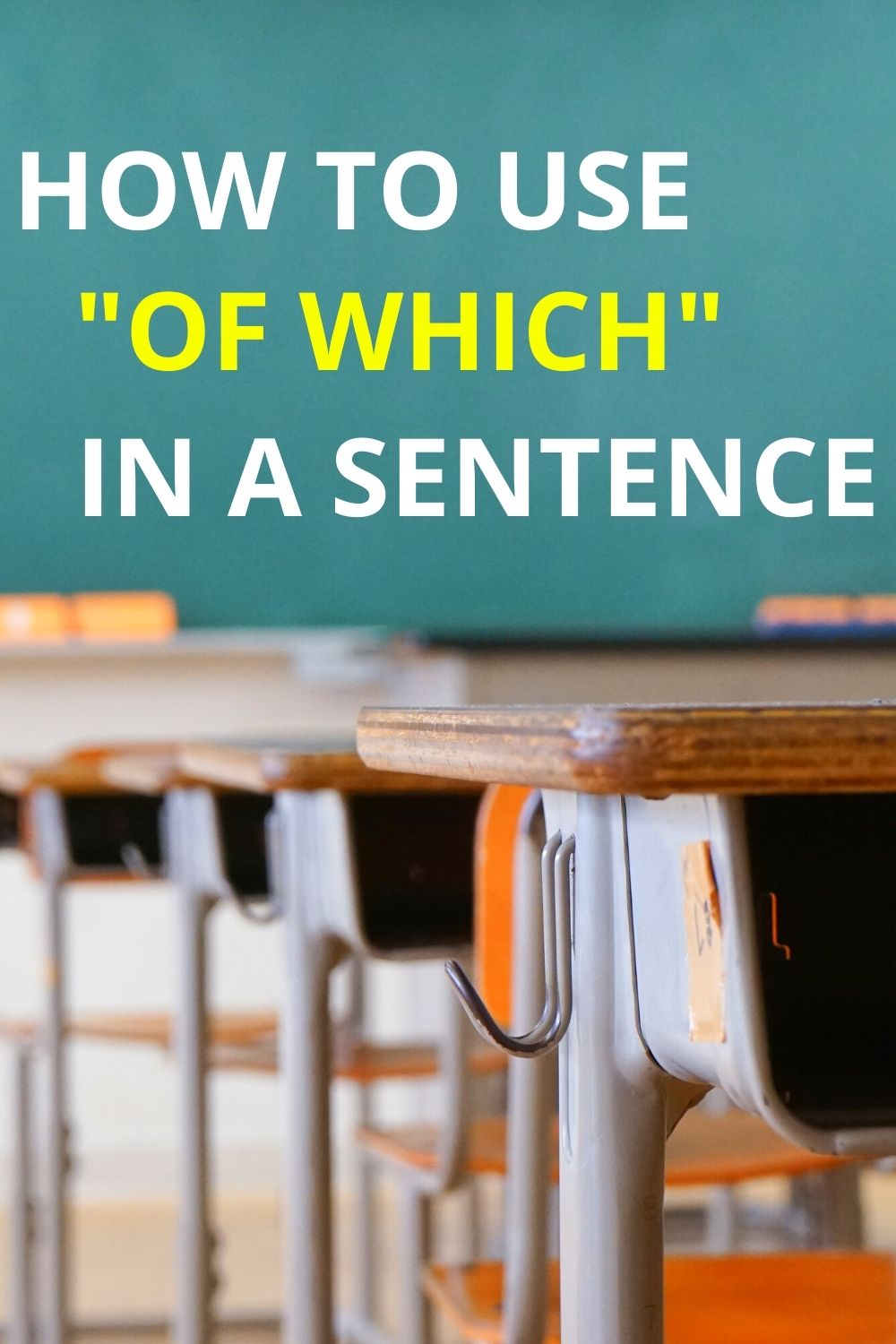How to Use of which in a Sentence