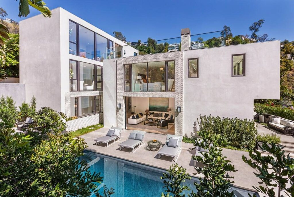 John Krasinski's former Hollywood Hill Home