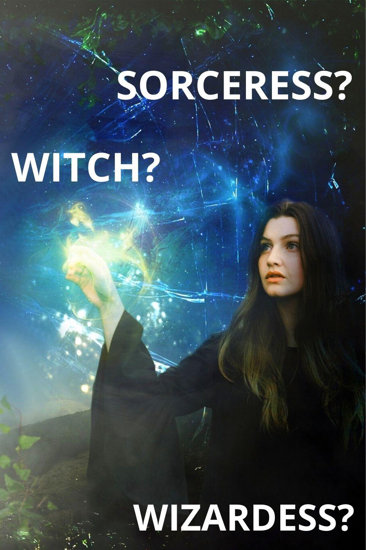 Female Wizard Terminology