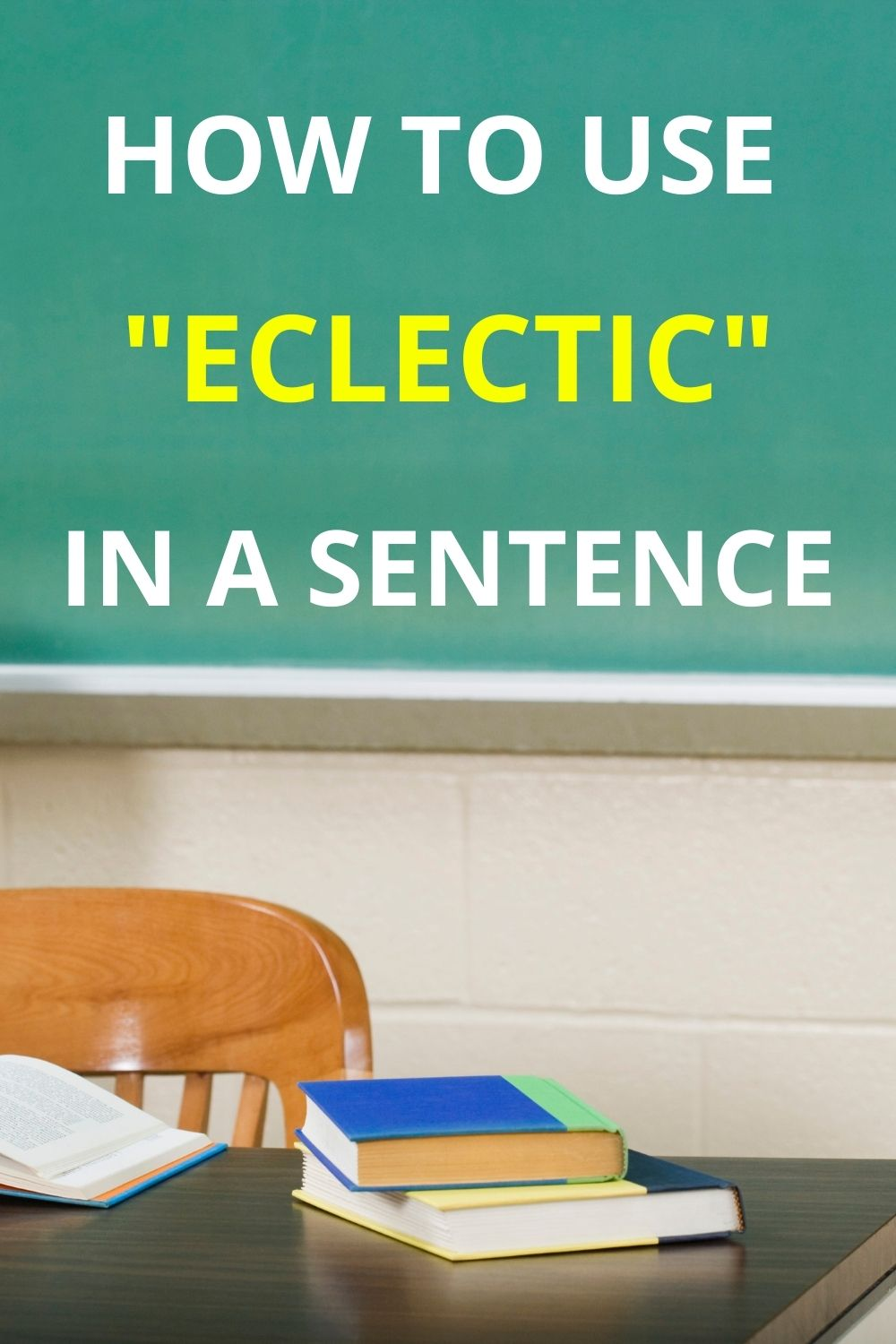 How To Use eclectic in a Sentence