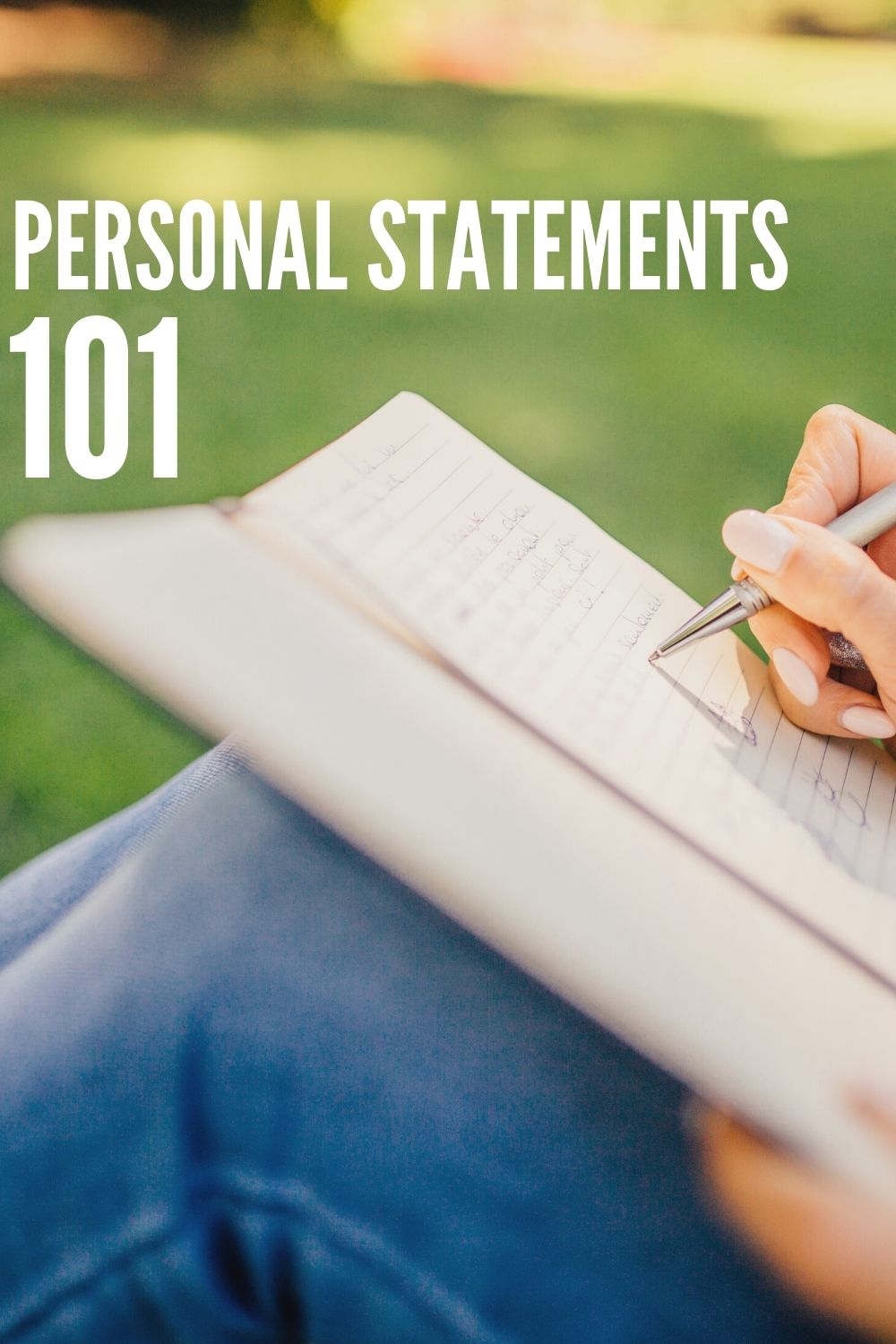 Personal Statements 101