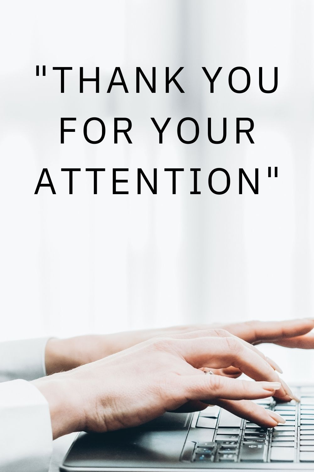 Thank you for your attention Meaning Usage Scope