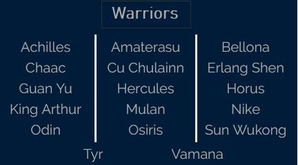 Smite Source Warriors