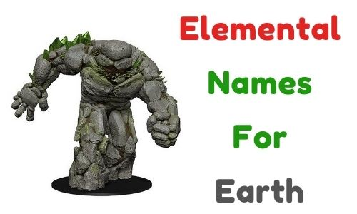 Elemental Names For Earth