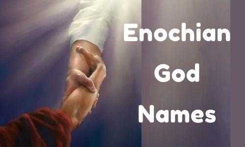 Enochian God Names