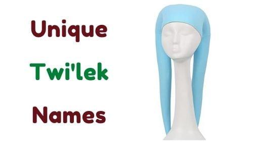 unique Twi'lek Names