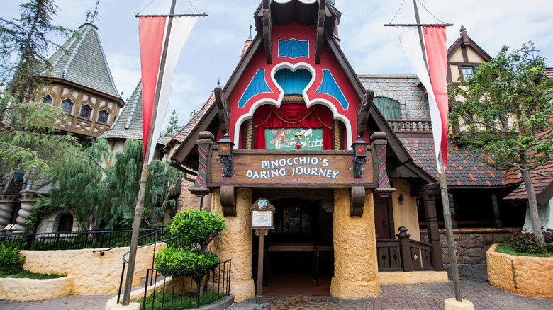 Entrance to Pinocchio's Daring Adventure - Cropped