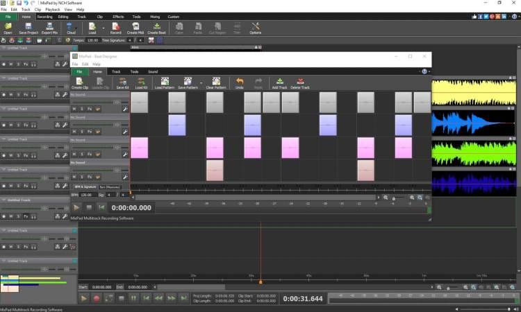 MixPad Multitrack Studio Recording